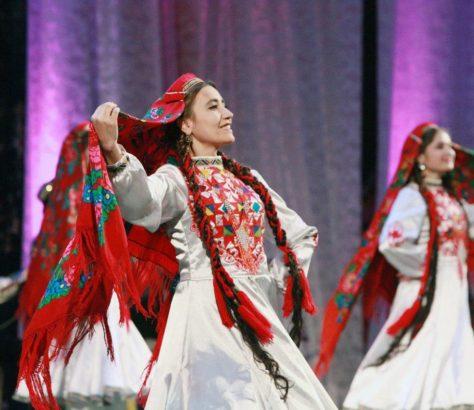 Feier Tadschikistan Tanzerin