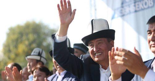 Dscheenbekow Präsidentschaftswahlen Kirgistan