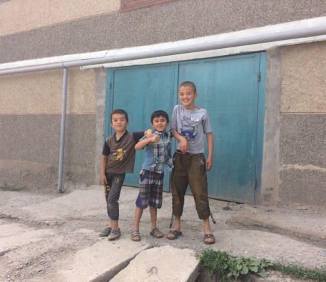 Kinder Istarawschan Tadschikistan