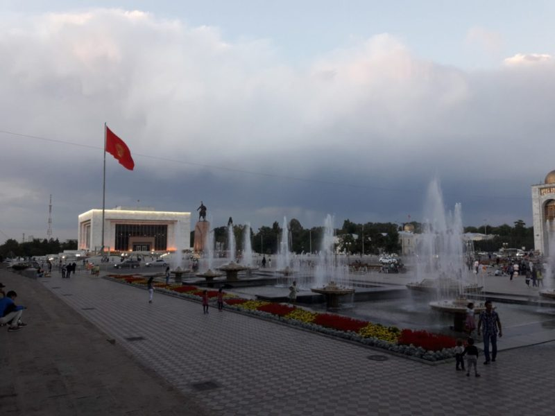 Ala Too Platz Bischkek Kirgistan