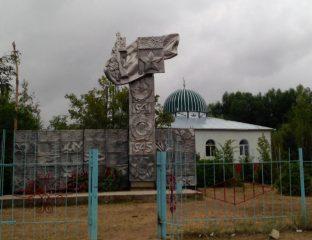 Denkmal Chelpek Karakol