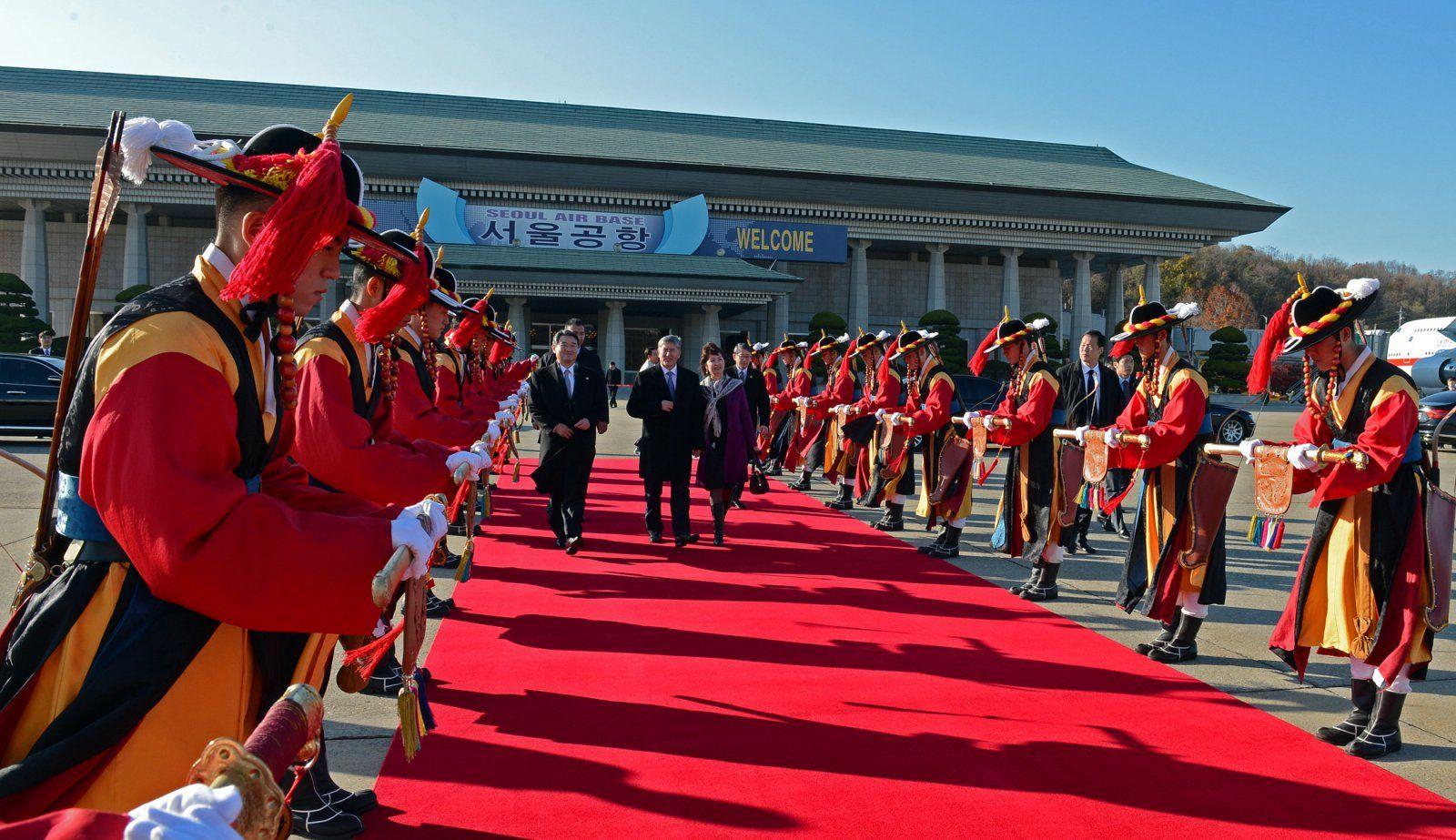 Atambajew Staatsbesuch Südkorea