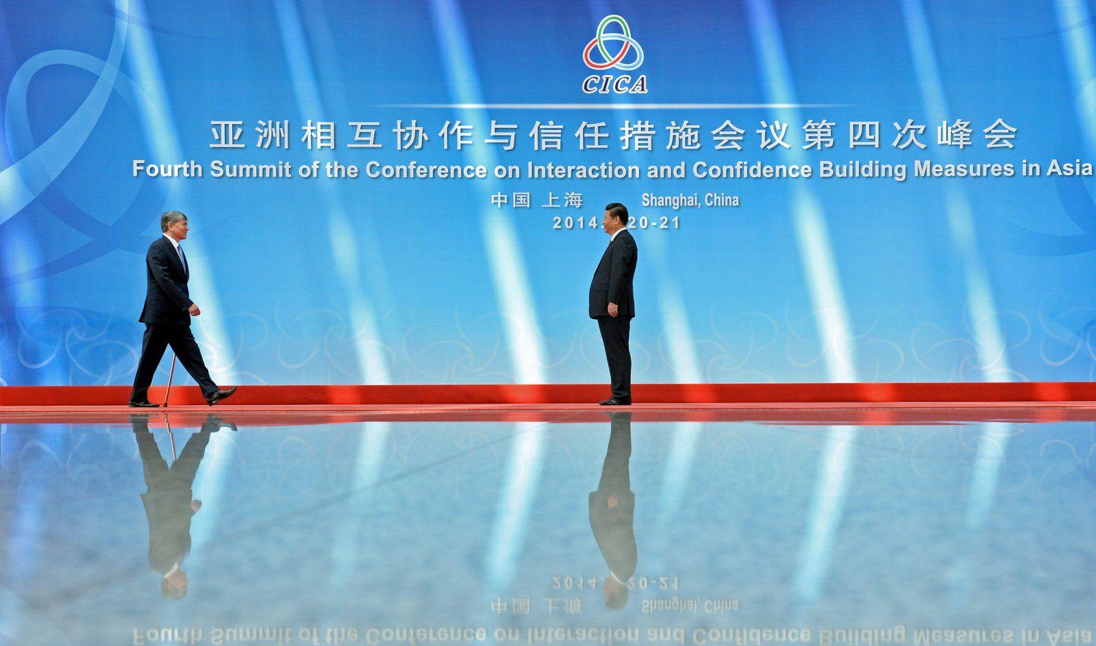 Atambajew Staatsbesuch China Xi Xinping