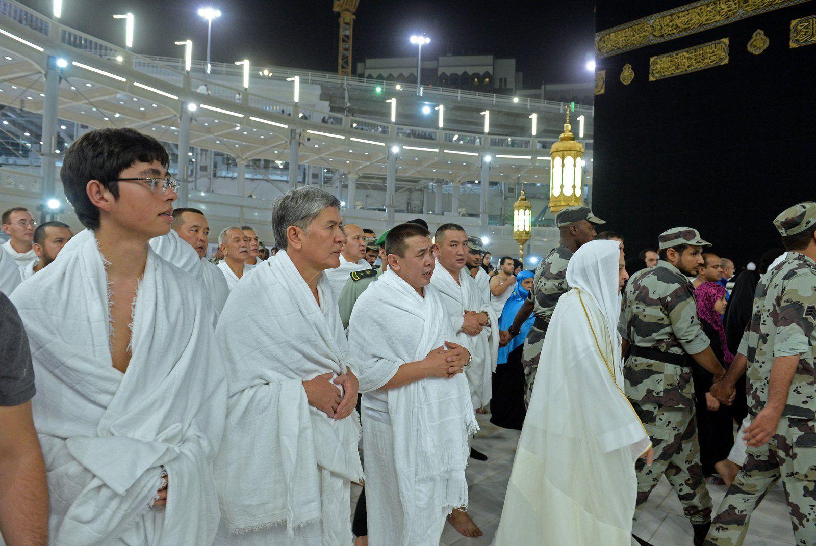 Atambajew auf Pilgerfahrt in Mekka Saudi Arabien