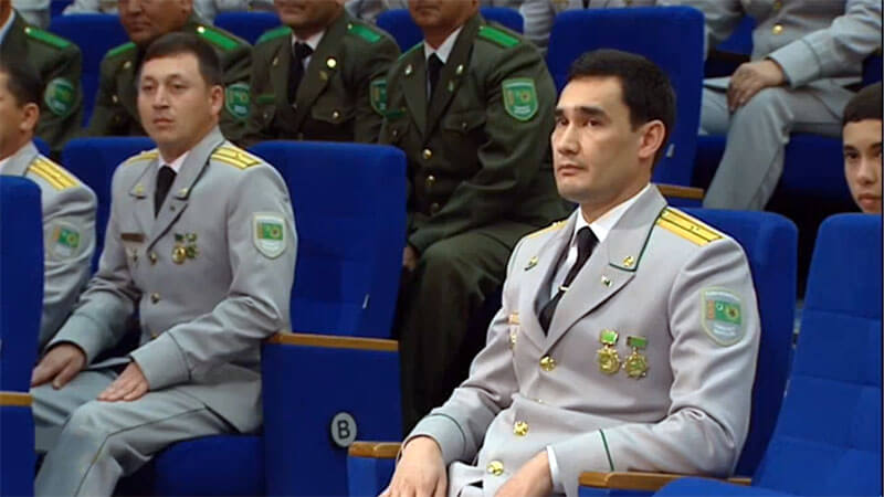 Serdar Berdimuchammedow Medaille