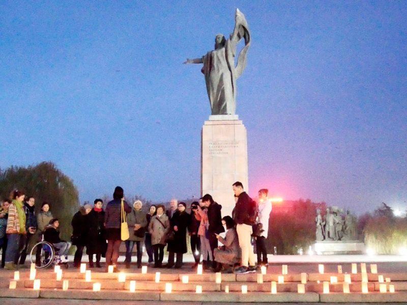 Bishkek Feminist Initiative Tag Gewalt an Frauen