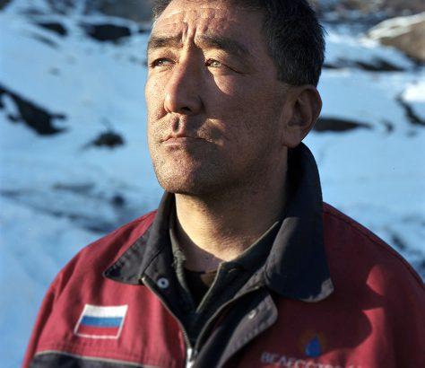 Schachtarbeiter in Mailuu Suu Kirgistan