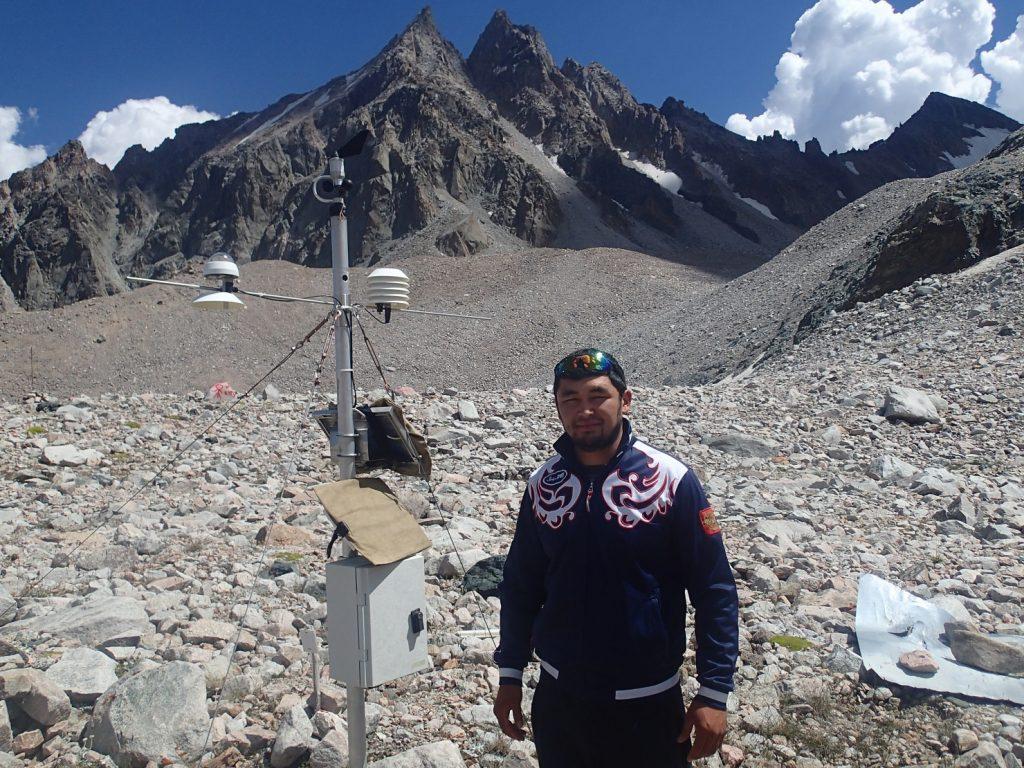 Gletscher Kirgistan Bischkek Umwelt Klimaerwärmung Nursultan