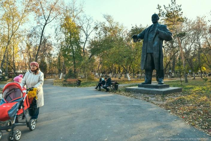 Lenin Statue in Petropawl