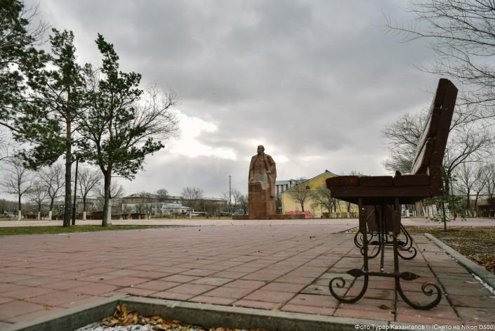 Lenin Statue Karagandy