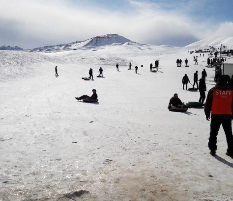 Tschyjyrtschyk Ski Winter Usbekistan