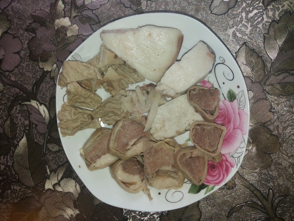 Ddelikatessen Fleisch Kirgisan