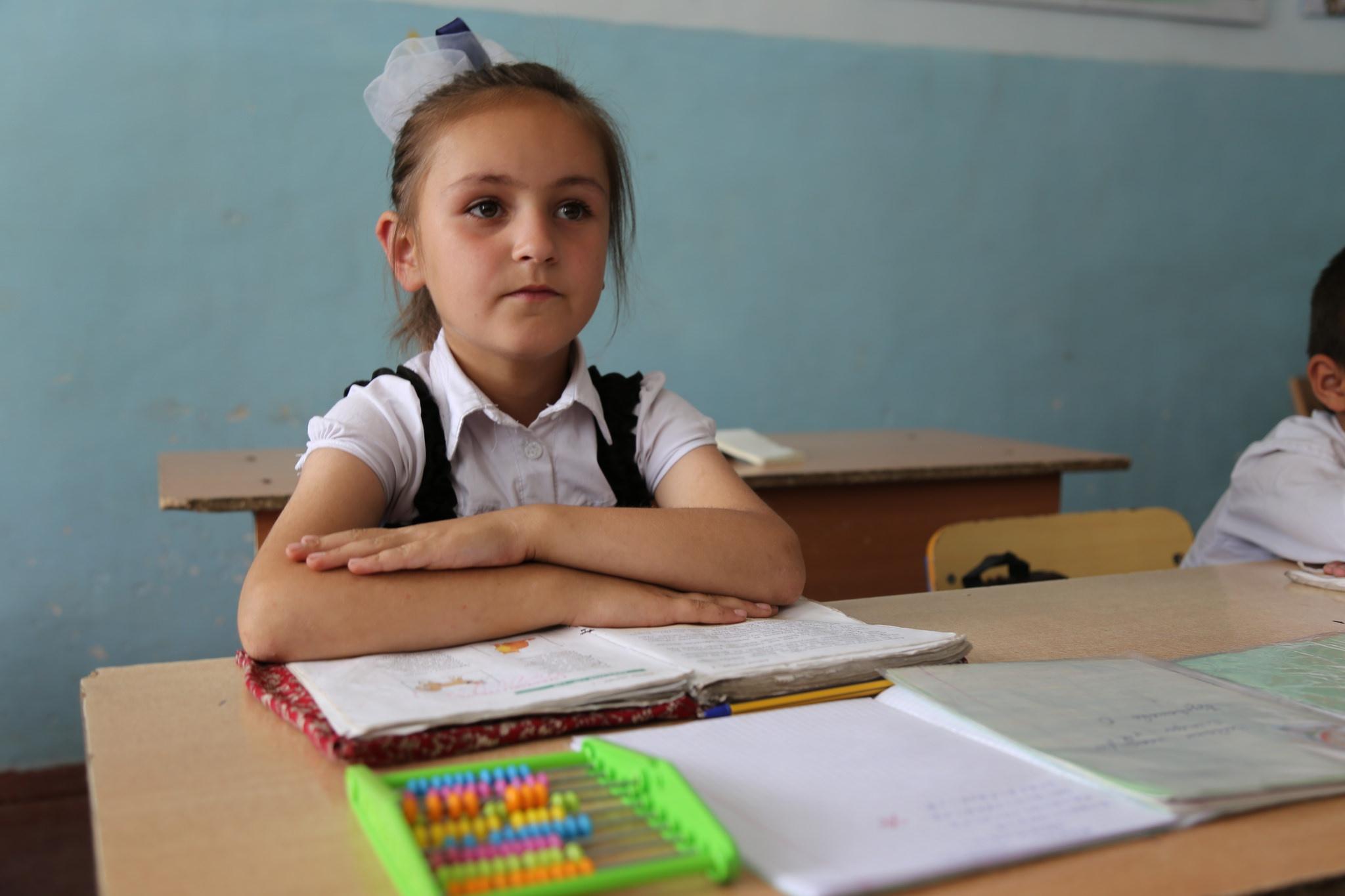 In einer Schule in Tadschikistan