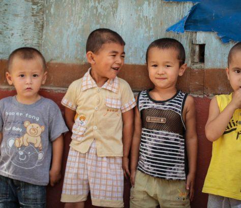 Kinder in Tadschikistan