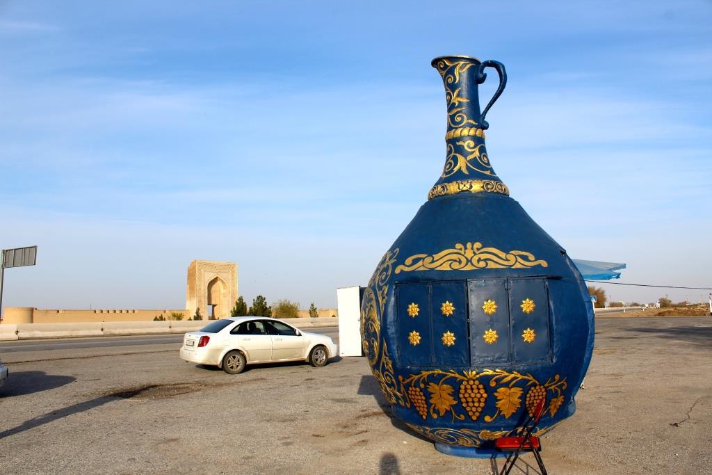 Buchara Alkohol Handel Usbekistan
