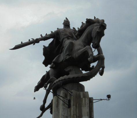 Manas, Statue, Bischkek