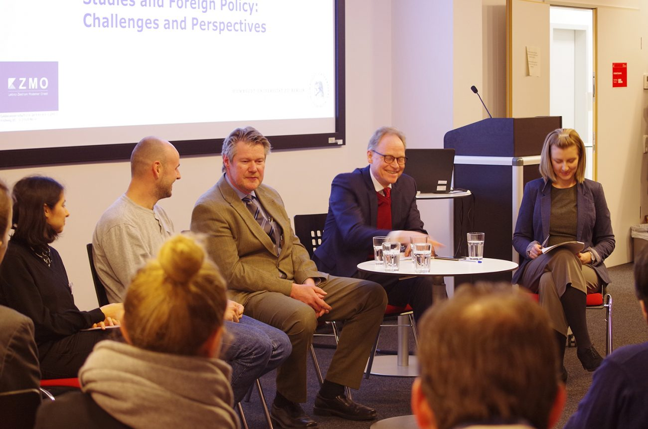 Podiumsdiskussion Zentralasienstudien und Außenpolitik in Berlin
