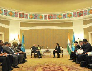 Kasachstan, Indien, Diplomatie, Treffen