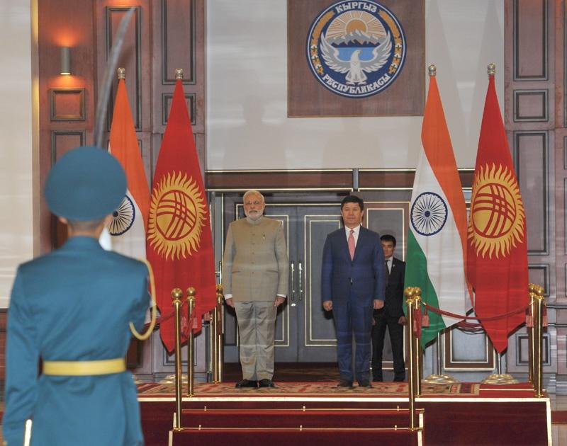 Indien, Kirgistan, Diplomatie
