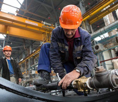 Kasachstan, Arbeiter, Fabrik, Lohn, Produktion