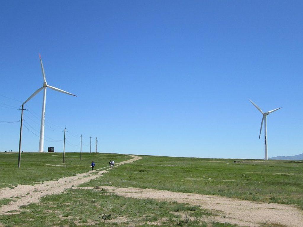 Windkraft, Alternative Energie, Zentralasien