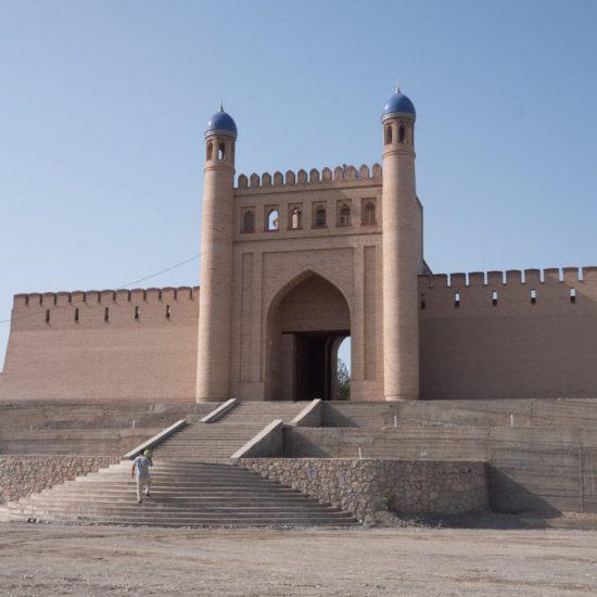 Zitadelle Istarawschan Tadschikistan Mugh Tappa