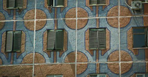 Mosaik Taschkent Usbekistan Sowjetzeit