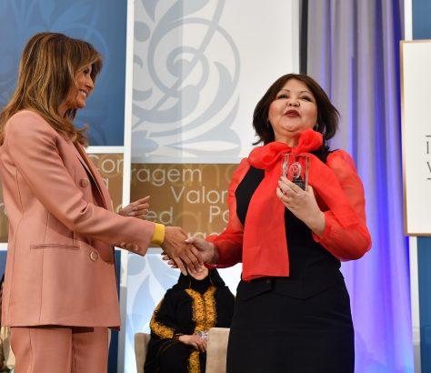 Ayman Umarowa Melania Trump