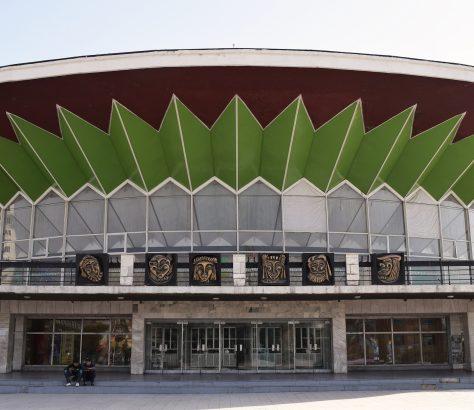 Zentralasien, Zirkus, Tadschikistan, Architektur
