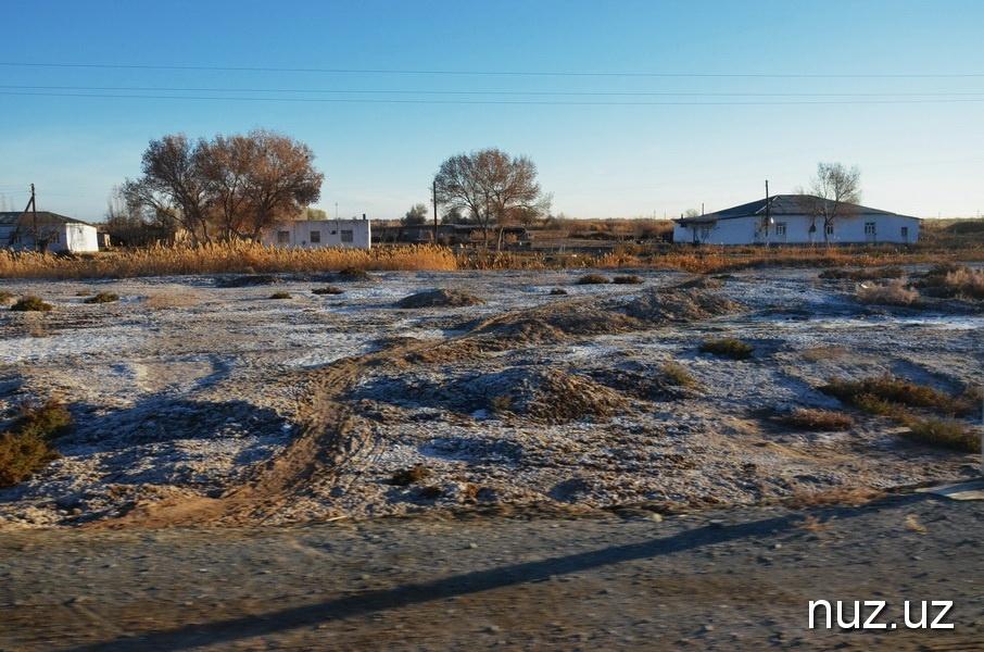 Aralsee gestern versalzen