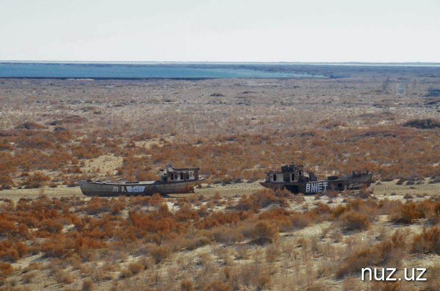 Aralsee gestern Boote