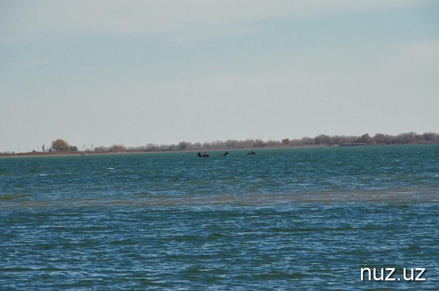 Fischfang im Gebiet Mojnok