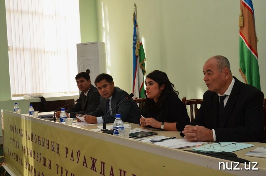 Konferenz zum Aralsee Usbekistan