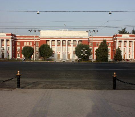 Tadschikisches Parlament Duschanbe