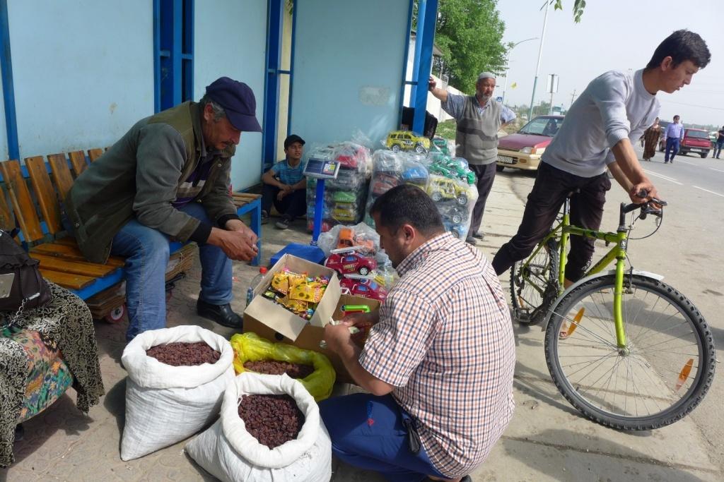 Tadschikistan Usbekistan Handel Wirtschaft Grenze