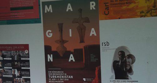 Margiana ein Königreich der Bronzezeit in Turkmenistan Plakat