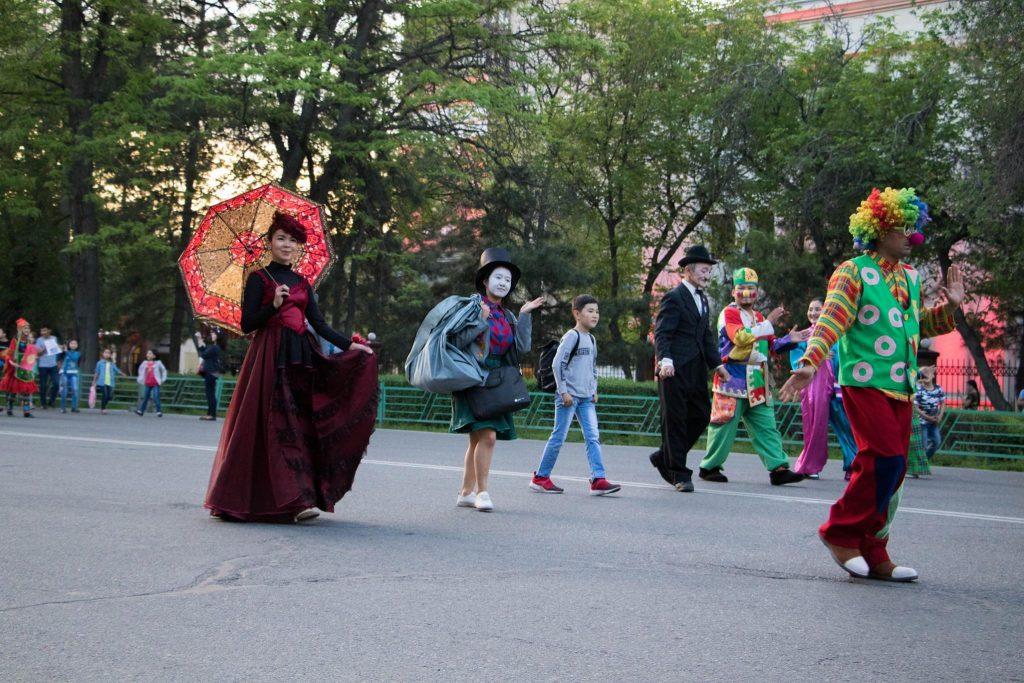 Bischkek, Parade