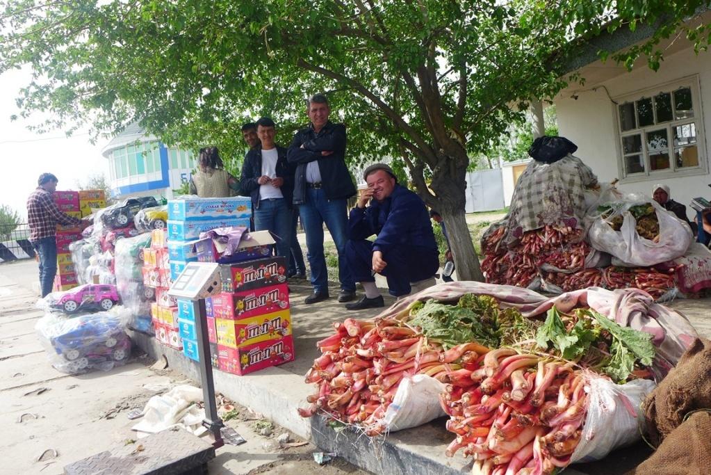 Waren Handel Tadschikistan Usbekistan