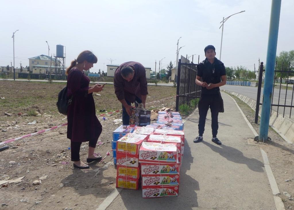 Grenze Tadschikistan Usbekistan Handel