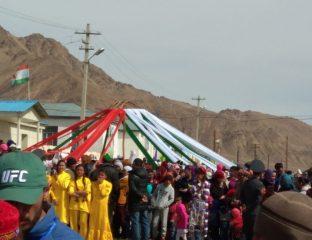 Kirgisische Jurte in Murghob Tadschikistan