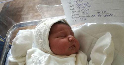 Baby Tadschikistan 9 MiIllionen Einwohner