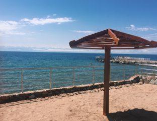 Kirgistan Issikköl Strand