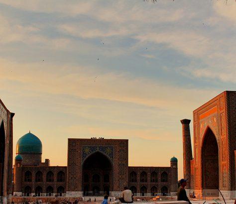 Samarkand Registon Usbekistan