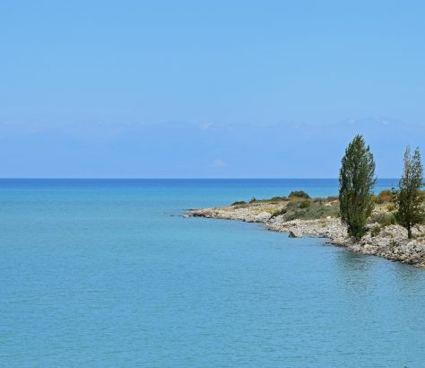 Issik-Kol Kirgistan See Natur