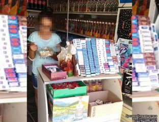 Tabakverkauf in Turkmenistan