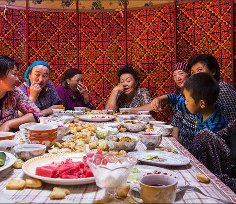 Hochzeiten in Kirgistan Brauchtümer