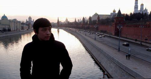 Manutschechr Jabukow aus Tadschikistan in Moskau