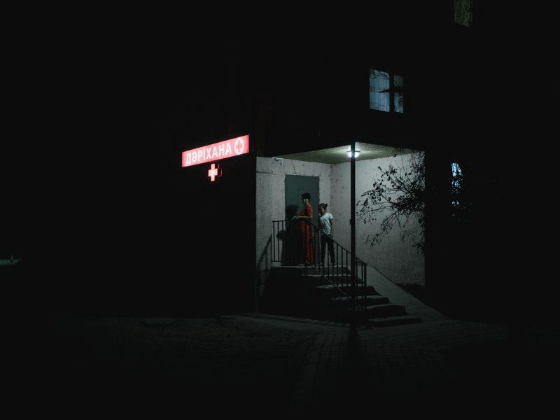 Nächtlicher Einkauf in Aktau