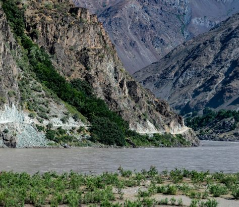 Pandsch Tadschikistan Afghanistan Grenze
