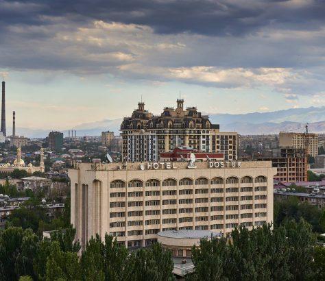Skyline Bischkek Kirgistan Architektur